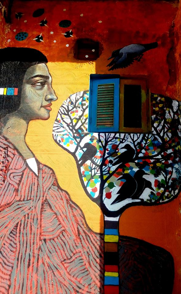 Artists bring colour and hope to Egypt's El-Borollos