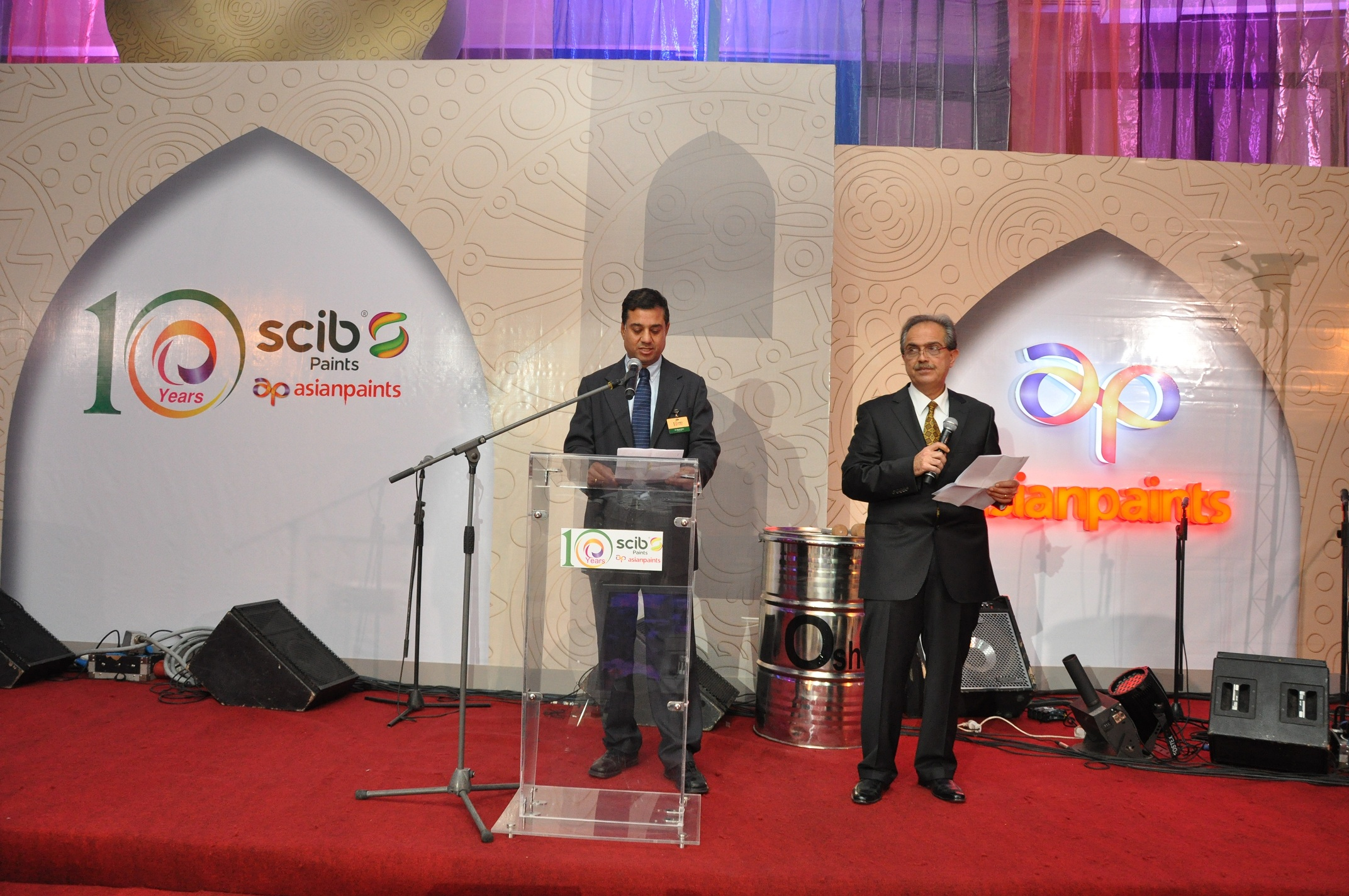 Scib Paints Celebrates its annual event with its success partners