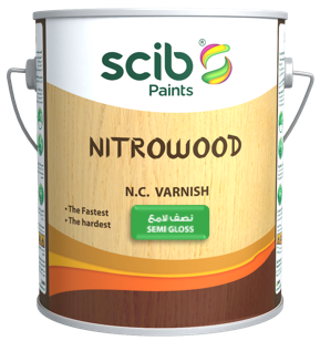 NITROWOOD SEMI-GLOSS VARNISH