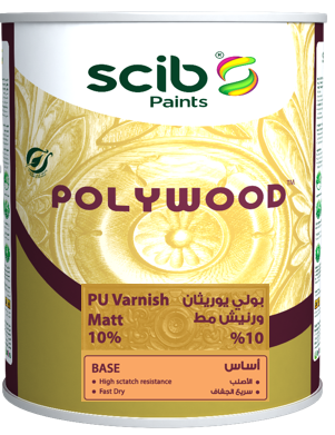 POLYWOOD Matt 10%  clear Varnish