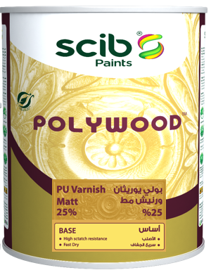 POLYWOOD Matt 25% clear Varnish