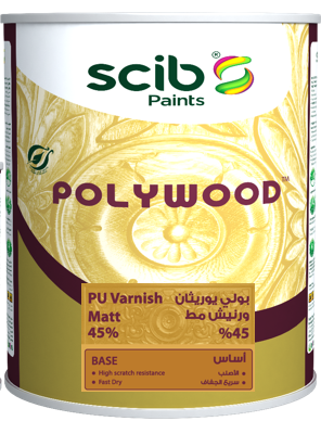 POLYWOOD Matt 45%  clear Varnish